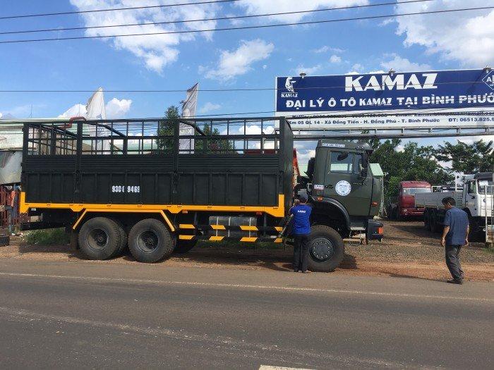 Xe tải thùng 53228 (6x6) 3 cầu chủ động | Kamaz 53328 thùng 6,7m 5