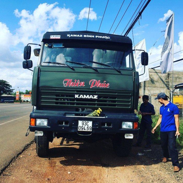 Xe tải thùng 53228 (6x6) 3 cầu chủ động | Kamaz 53328 thùng 6,7m 6