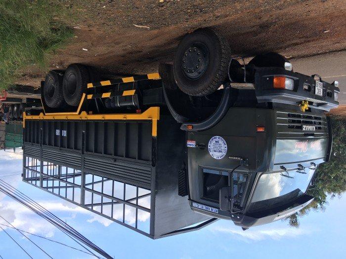Xe tải thùng 53228 (6x6) 3 cầu chủ động | Kamaz 53328 thùng 6,7m 7