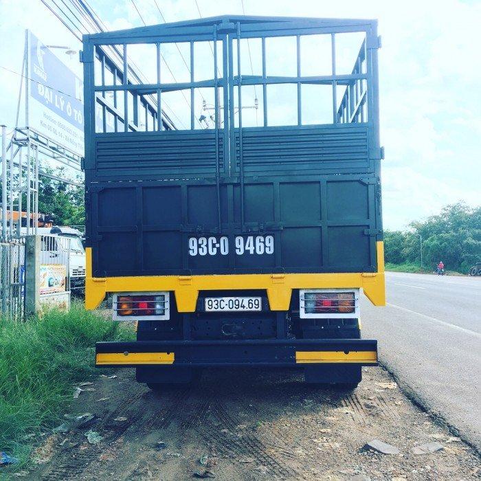 Xe tải thùng 53228 (6x6) 3 cầu chủ động | Kamaz 53328 thùng 6,7m 8