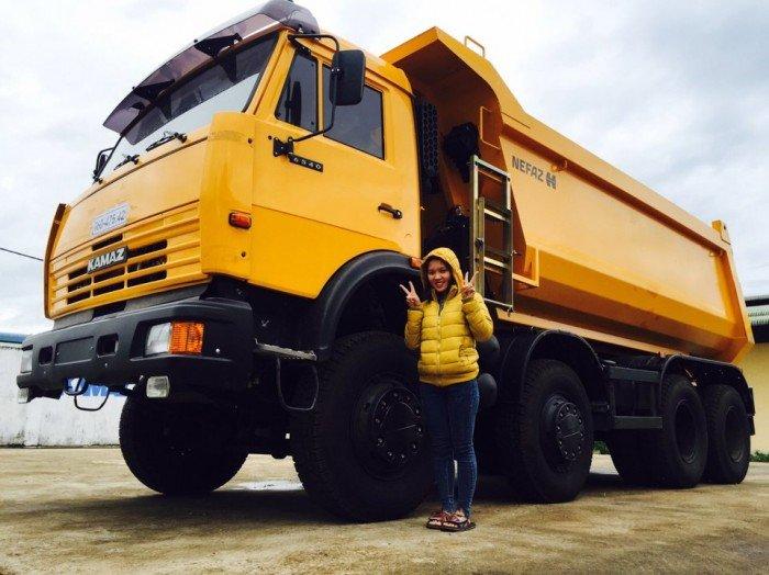 Giá xe ben Kamaz 6540 nhập khẩu   Xe ben Kamaz 4 chân  khuyến mãi 2020