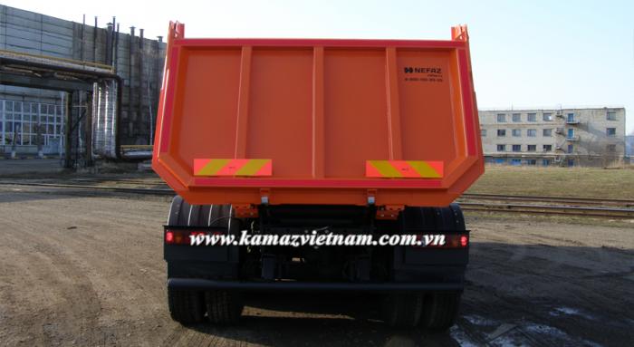 Xe ben Kamaz 6540 (8x4), Kamaz ben 4 giò, Kamaz 6540 ben mới 2016