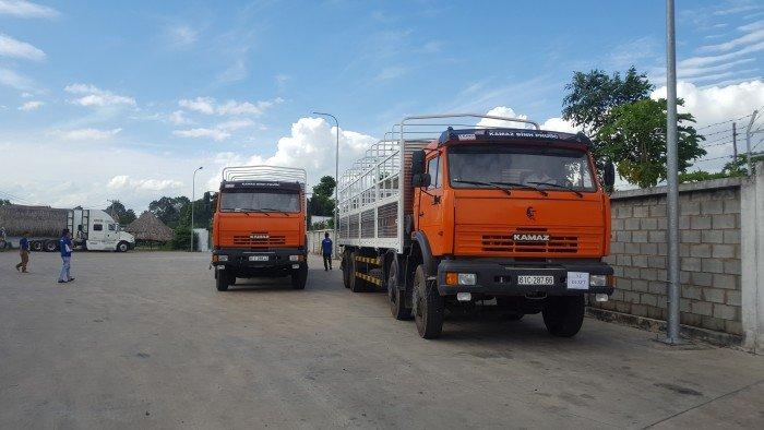 Kamaz 6540 thùng | Kamaz thùng 4 giò 9m mới 2016