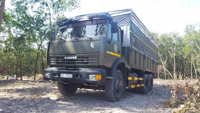 Tải thùng Kamaz 53229 (6x4) mới 2016 tại Kamaz Bình Dương | Kamaz 53229