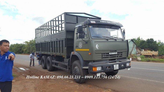Tải thùng Kamaz   Xe Kamaz cũ & mới   mua bán xe Kamaz thùng 2