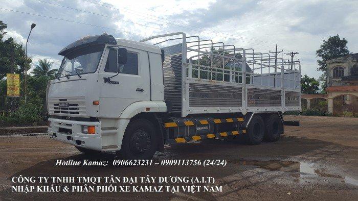 Tải thùng Kamaz   Xe Kamaz cũ & mới   mua bán xe Kamaz thùng 8