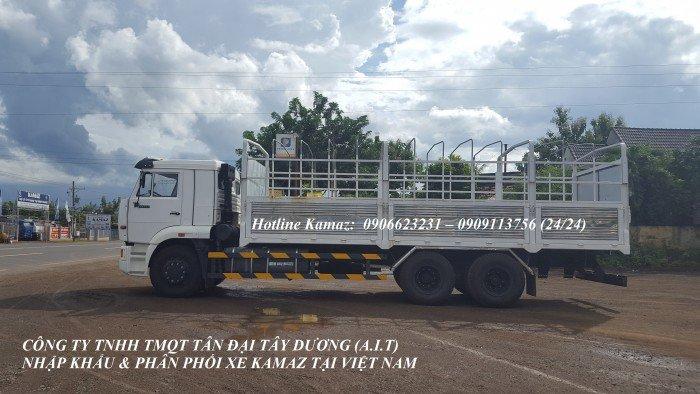 Tải thùng Kamaz   Xe Kamaz cũ & mới   mua bán xe Kamaz thùng 7