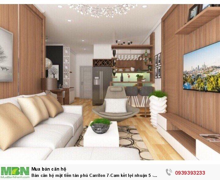 Bán căn hộ mặt tiền tân phú Carrilon 7-Cam kết lợi nhuận 5 - 10%-Giá Tốt đợt 1