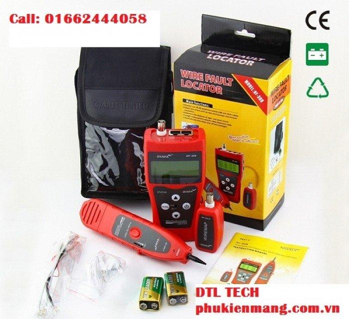 Khả năng test được cáp : STP / UTP cáp xoắn đôi, cáp đồng trục, cáp điện thoại