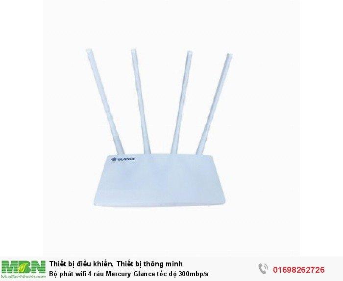 Bộ phát wifi 4 râu Mercury Glance tốc độ 300mbp/s1