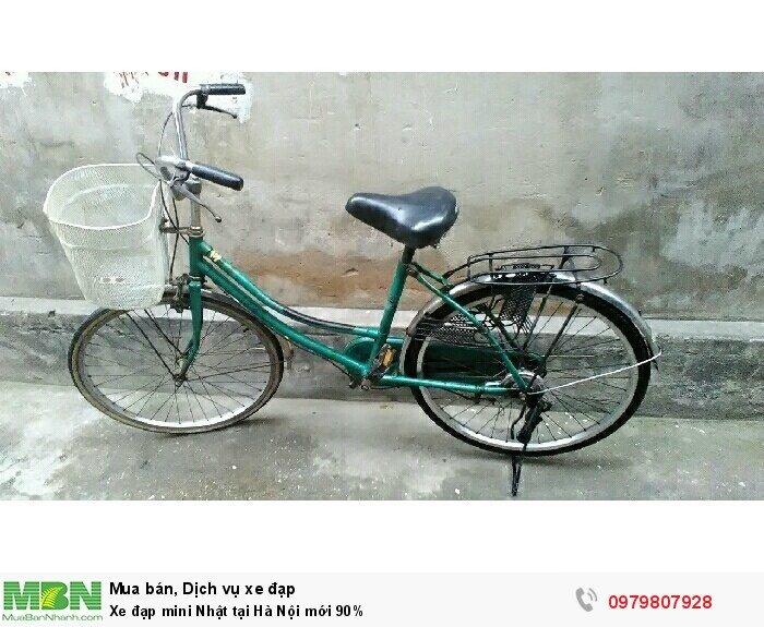 Xe đạp mini Nhật tại Hà Nội mới 90%