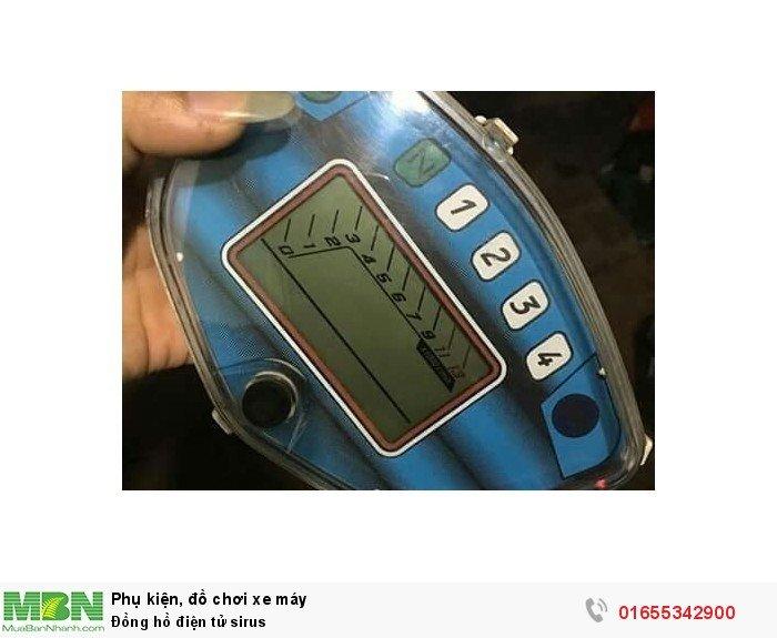 Đồng hồ điện tử sirus