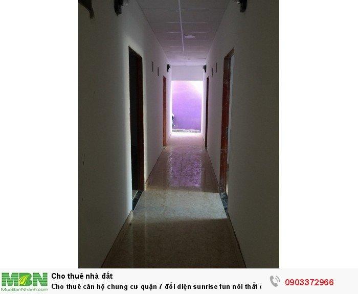 Cho thuê căn hộ chung cư quận 7 đối diện sunrise fun nôi thất cao cấp giá siêu rẽ