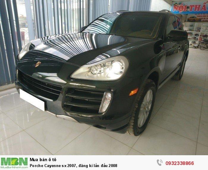 Porsche Cayenne sản xuất năm 2007 Số tự động Động cơ Xăng