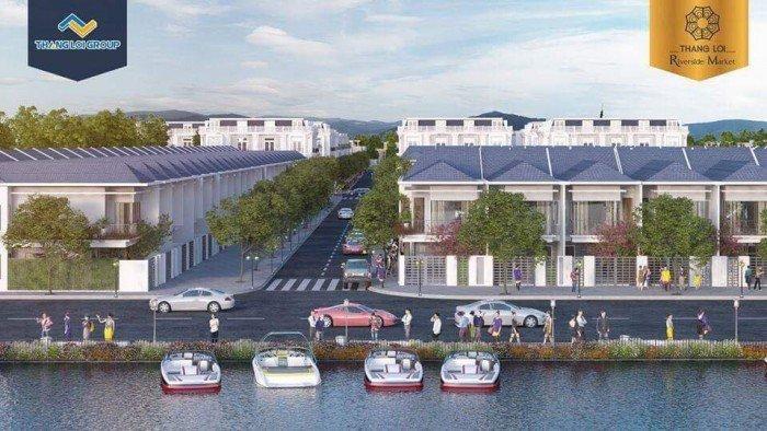 Siêu dự án Thắng Lợi Riverside Market vị trí vàng đẳng cấp Phú Mỹ Hưng, trung tâm đô thị hiện đại, view sông, đối diện chợ, lợi nhuận 30%/6 tháng