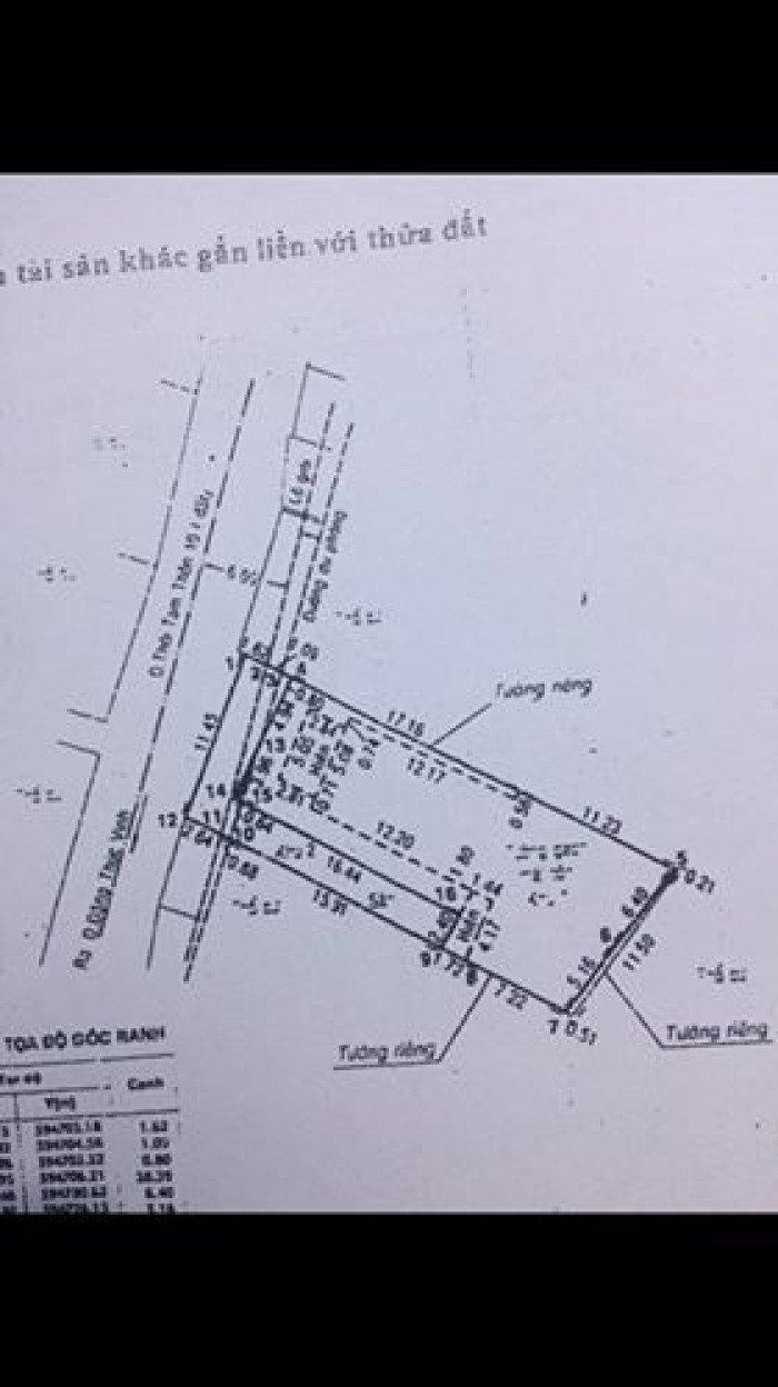 Bán xưởng Hóc Môn ngân hàng thanh lý TTT đường nhựa 340m