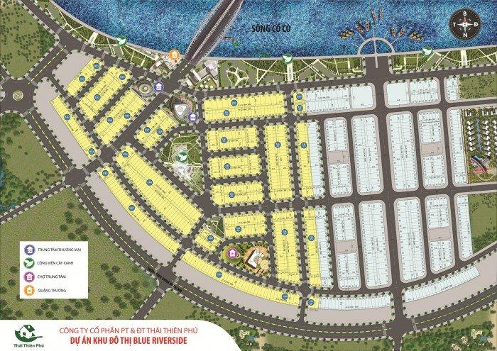 Nhận đặt chỗ chính thức dự án BLUE riverside, nền, sinh lãi cao nhất