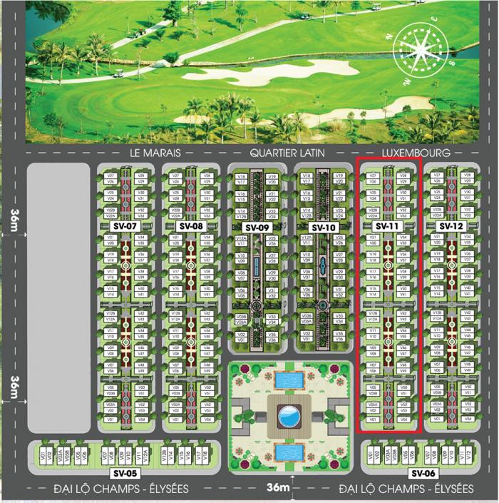 Bảng Giá Sonasea Paris Villas Phú Quốc , Sở hữu vĩnh viễn Giá Gốc CĐT