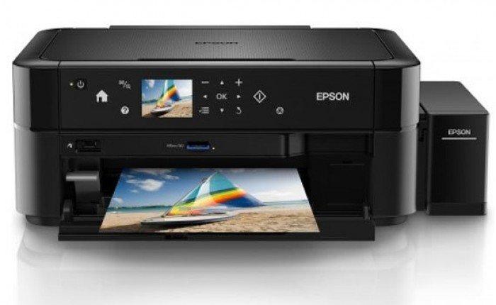Máy In Phun Màu Đa Năng Epson L850, Copy, Scan, Fax, Có Tiếp Mực Ngoài2