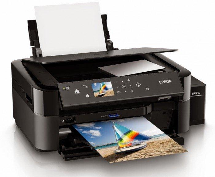 Máy In Phun Màu Đa Năng Epson L850, Copy, Scan, Fax, Có Tiếp Mực Ngoài1