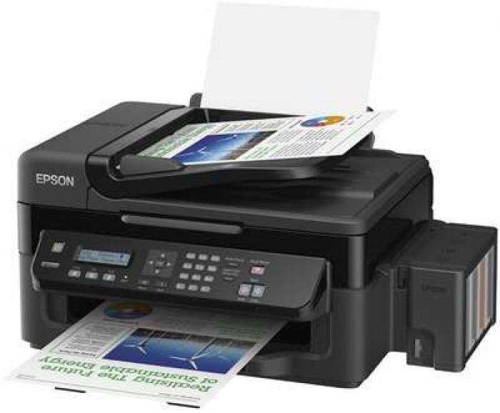Máy In Phun Màu Đa Năng Epson L850, Copy, Scan, Fax, Có Tiếp Mực Ngoài0