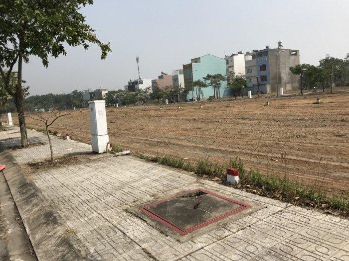 Đất nền Cát Lái Invesco, đối diện chung cư citi home đường 24m, sổ riêng.