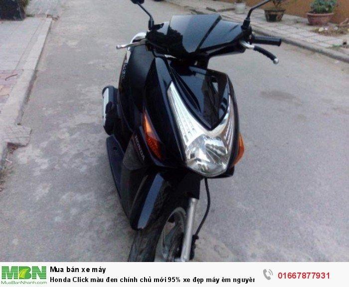 Honda Click màu đen chính chủ mới 95% xe đẹp máy êm nguyên zin xe máy mạnh chạy nhẹ vọt lợi xăng