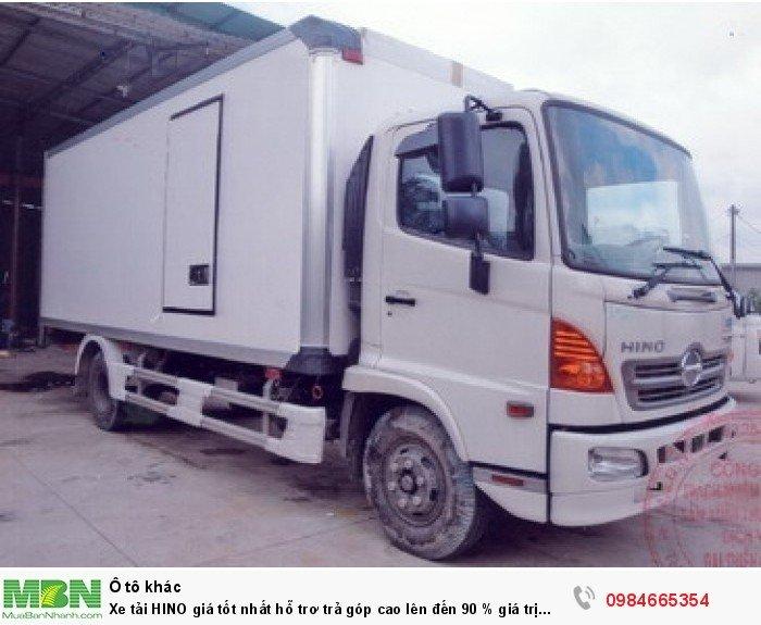 Xe tải HINO giá tốt nhất hỗ trơ trả góp cao lên đến 90 % giá trị xe 0