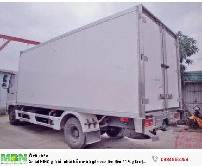Xe tải HINO giá tốt nhất hỗ trơ trả góp cao lên đến 90 % giá trị xe 1