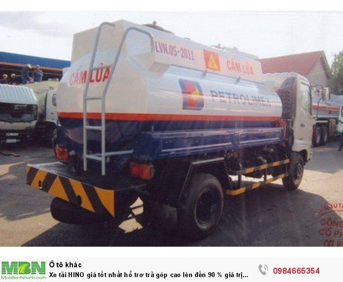 Xe tải HINO giá tốt nhất hỗ trơ trả góp cao lên đến 90 % giá trị xe 3