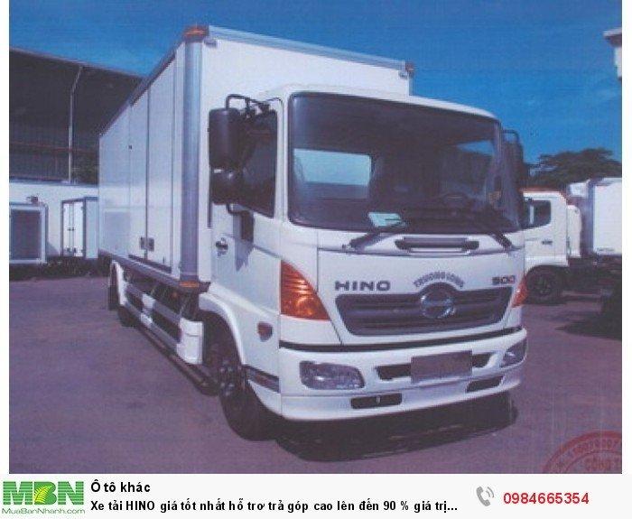 Xe tải HINO giá tốt nhất hỗ trơ trả góp cao lên đến 90 % giá trị xe 4