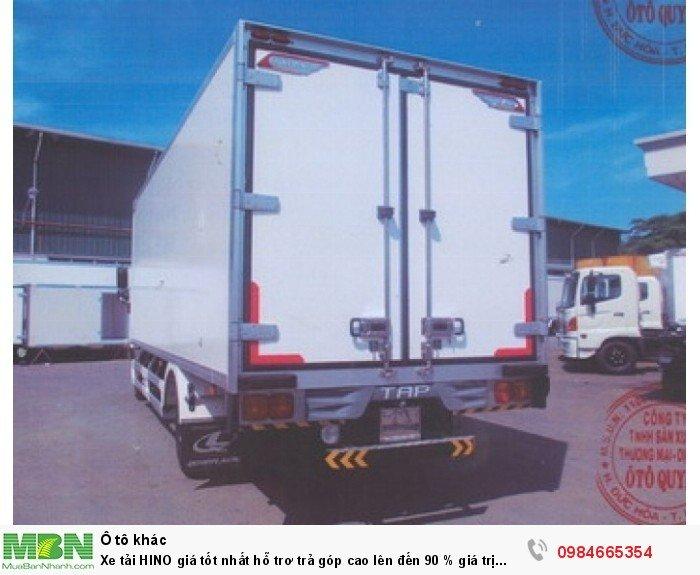 Xe tải HINO giá tốt nhất hỗ trơ trả góp cao lên đến 90 % giá trị xe 5