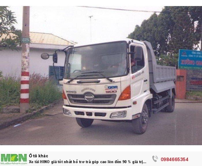 Xe tải HINO giá tốt nhất hỗ trơ trả góp cao lên đến 90 % giá trị xe 6