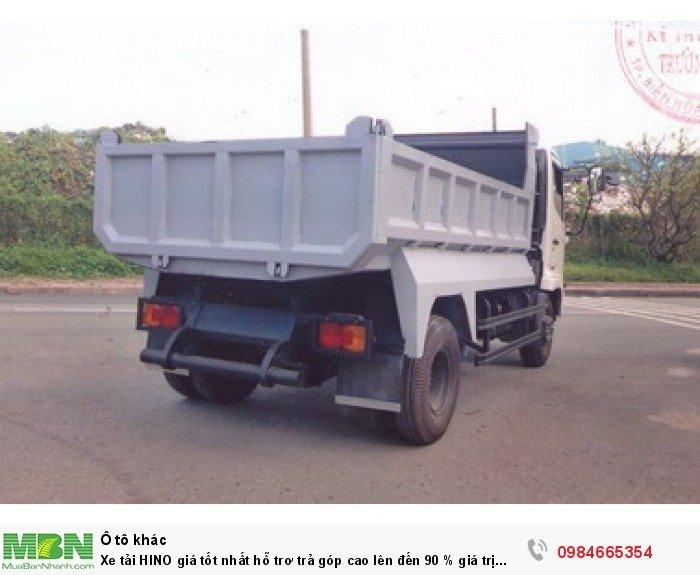 Xe tải HINO giá tốt nhất hỗ trơ trả góp cao lên đến 90 % giá trị xe 7