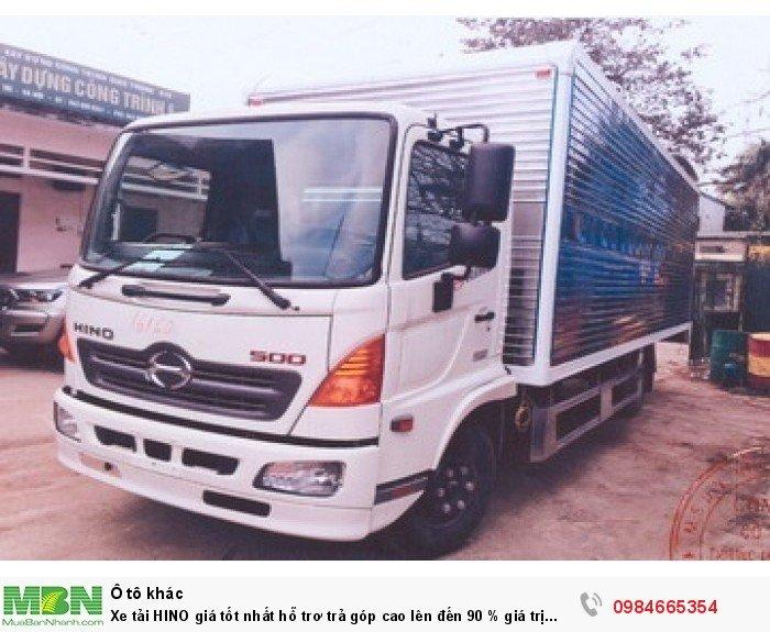 Xe tải HINO giá tốt nhất hỗ trơ trả góp cao lên đến 90 % giá trị xe 8