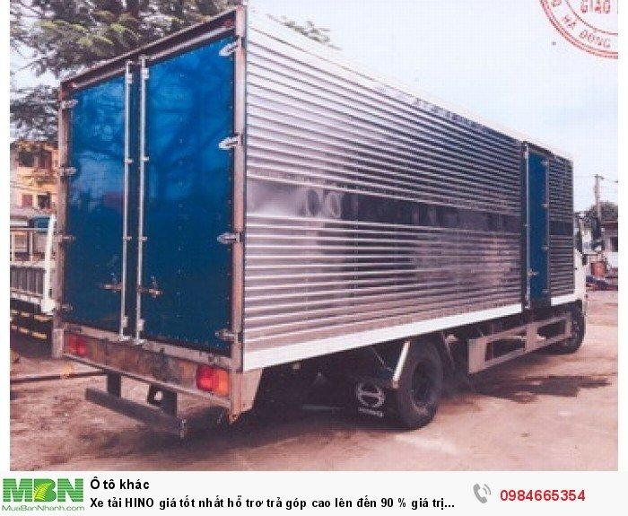 Xe tải HINO giá tốt nhất hỗ trơ trả góp cao lên đến 90 % giá trị xe 9
