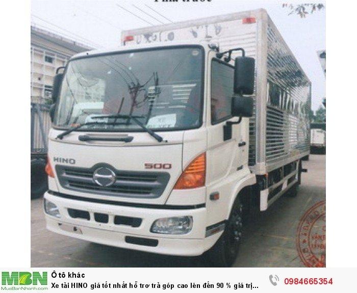 Xe tải HINO giá tốt nhất hỗ trơ trả góp cao lên đến 90 % giá trị xe 10