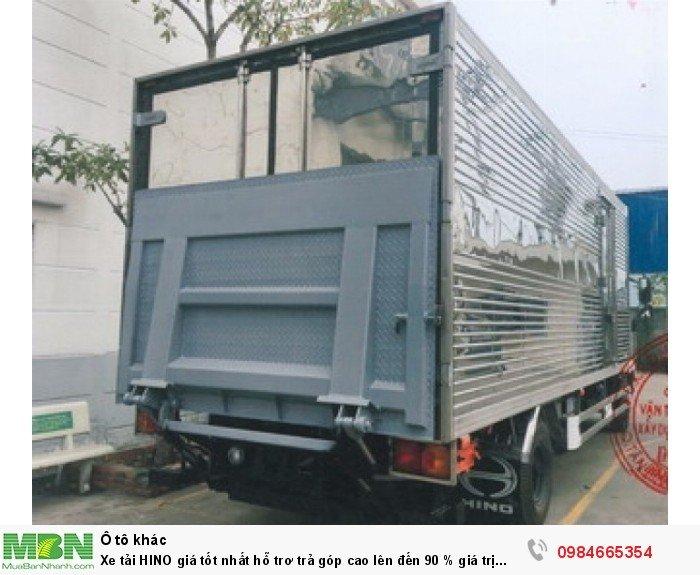 Xe tải HINO giá tốt nhất hỗ trơ trả góp cao lên đến 90 % giá trị xe 11