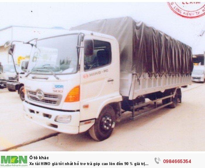 Xe tải HINO giá tốt nhất hỗ trơ trả góp cao lên đến 90 % giá trị xe 12