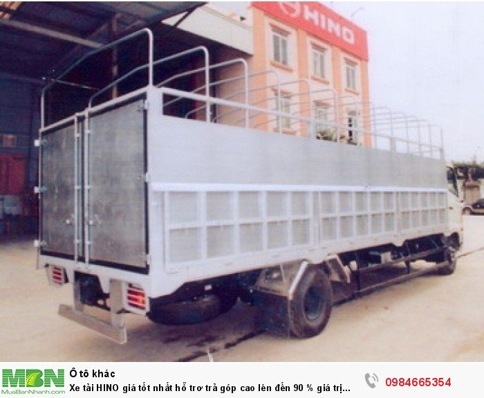 Xe tải HINO giá tốt nhất hỗ trơ trả góp cao lên đến 90 % giá trị xe 13