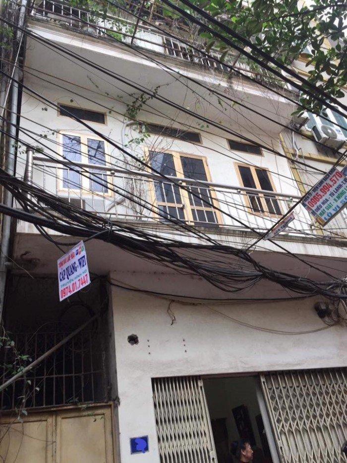 Bán nhà ở Kim Giang 75m2 mặt tiền 4,5m