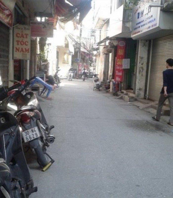 Bán nhà mặt ngõ, phố Khương Trung, 40m, mt 5m, kinh doanh tốt