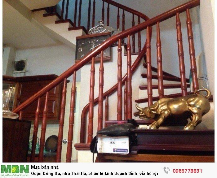 Quận Đống Đa, nhà Thái Hà, phân lô kinh doanh đỉnh, vỉa hè rộng, thang máy.