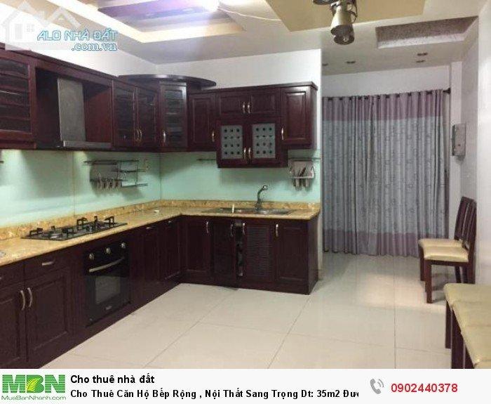 Cho Thuê Căn Hộ Bếp Rộng , Nội Thất Sang Trọng Dt: 35m2 Đường Hoàng Văn Thụ Quận Tân Bình