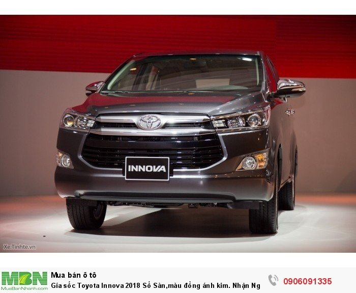 Toyota Innova Số tay (số sàn) Động cơ Xăng