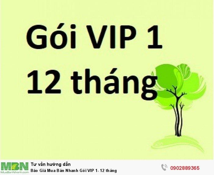 Báo Giá Mua Bán Nhanh Gói VIP 1- 12 tháng