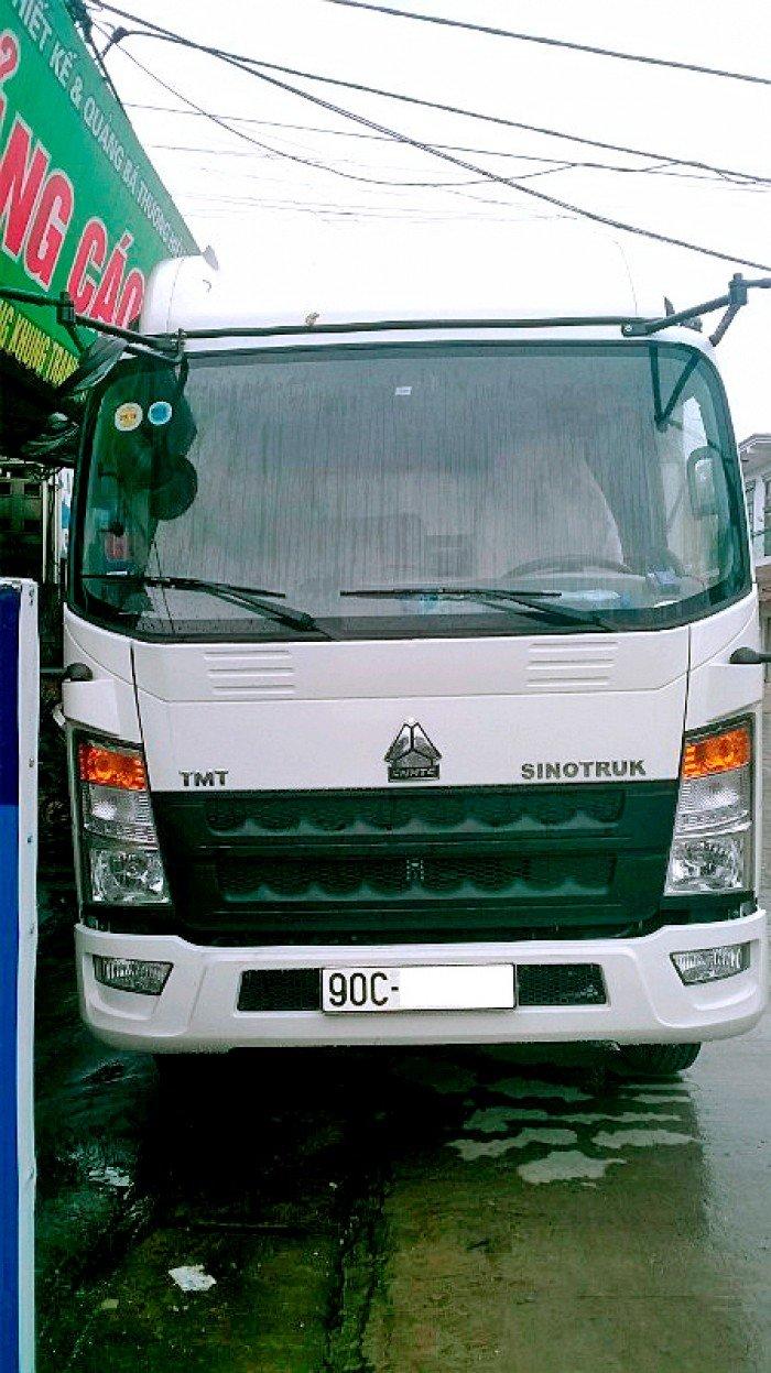 Bán xe tải TMT sinotruk 6 tấn thùng khung mui bạt ST8160T 0
