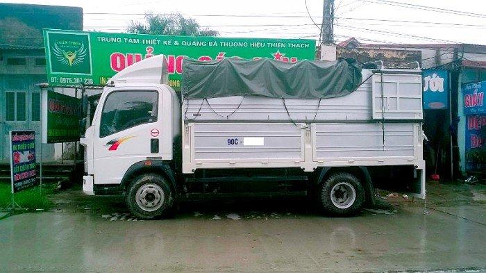 Bán xe tải TMT sinotruk 6 tấn thùng khung mui bạt ST8160T 1
