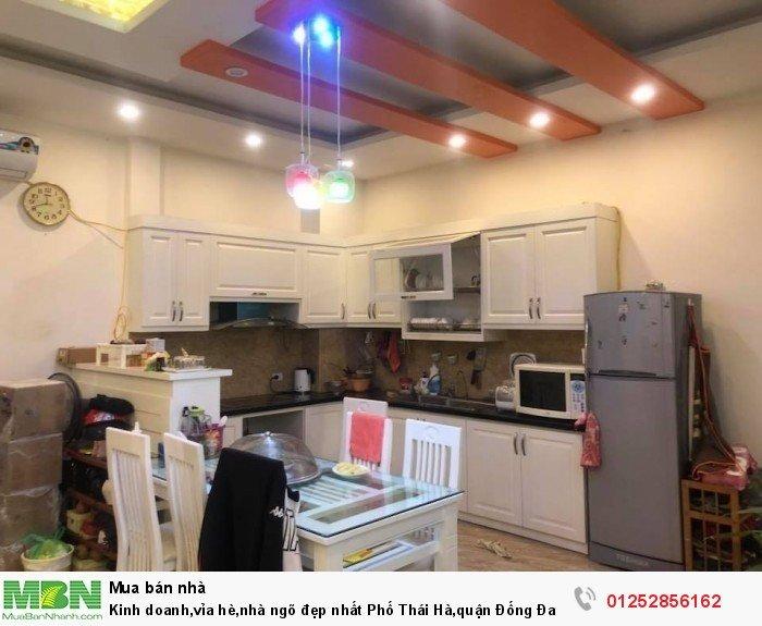 Kinh doanh,vỉa hè,nhà ngõ đẹp nhất Phố Thái Hà,quận Đống Đa, có mặt tiền 5.5m