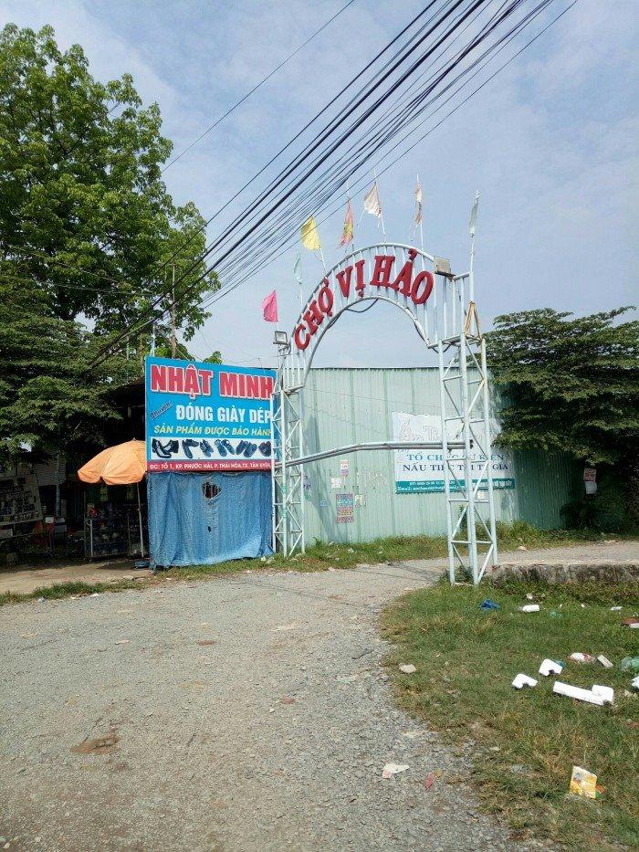 Bán đất kèm nhà trọ 10*20m gần chợ Vị Hảo,Tân Uyên